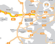M4 Junctions 3 to 12 Smart Motorway